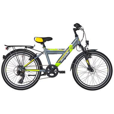 """Vélo de Ville S'COOL XYLITE Acier 7V 20"""" Gris"""